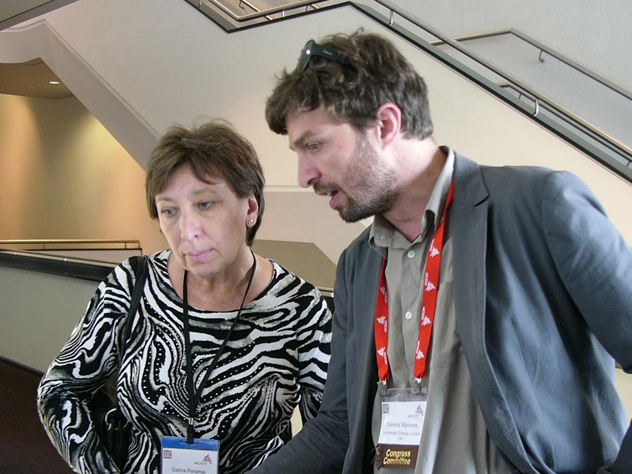 Dimitris Mylonas, Chairman and Galina Paramei, Co-Chairwoman