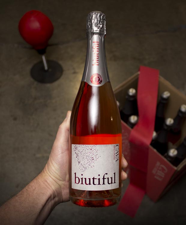 Isaac Fernandez Biutiful Brut Rose NV  - Last Bottle