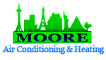 Website for Moore Air Conditioning and Heating