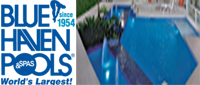 Website for Blue Haven Pools