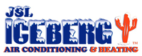Website for Iceberg Air Conditioning & Heating
