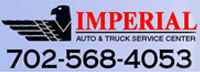 Website for Imperial Auto & Truck Service Center