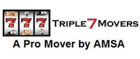 Website for Triple 7 Movers