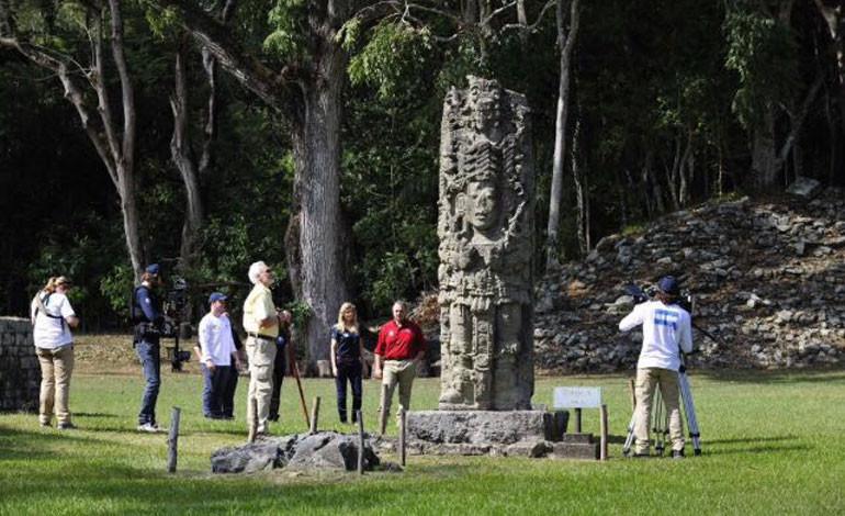 The Explorer´s Network comienza a filmar la civilización maya desde las alturas
