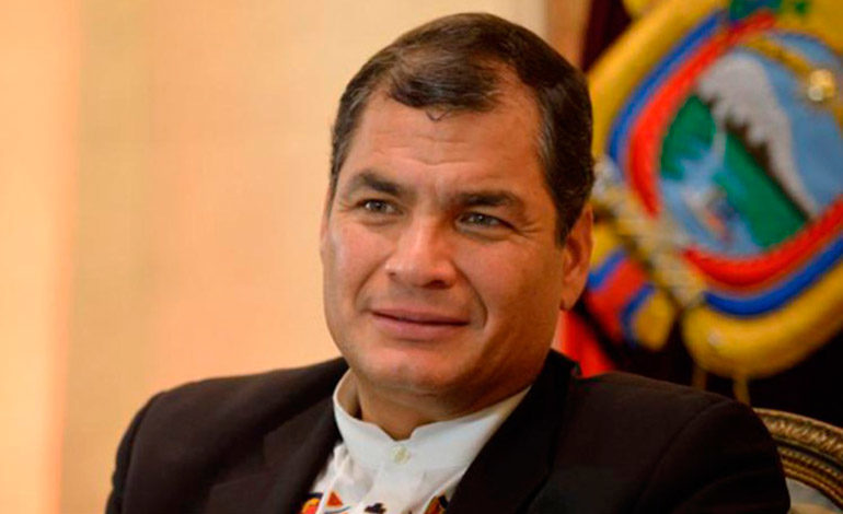 Ecuador: Corte ratifica prisión para expresidente Correa