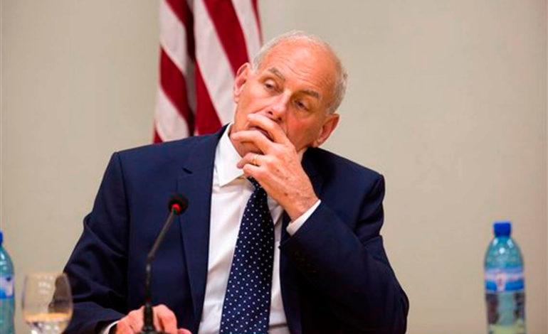 """John Kelly dice sentir """"compasión"""" por los inmigrantes"""