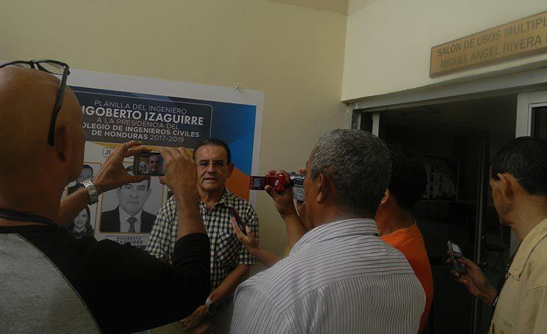 Ingenieros civiles a elección del presidente de su colegio