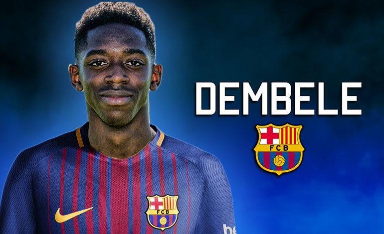 Barcelona paga 105 millones por Dembelé