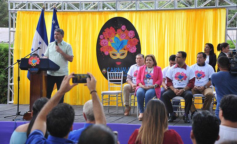 Fiesta en Tegucigalpa el 23 de septiembre