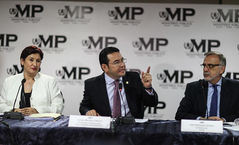 Gobierno pedirá destituir al jefe de la CICIG en Guatemala