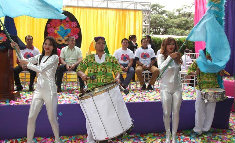 Alcaldía lanza el carnaval de la capital