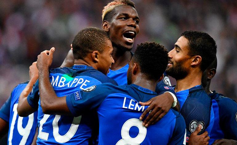 Francia recupera el mando y hunde a Holanda