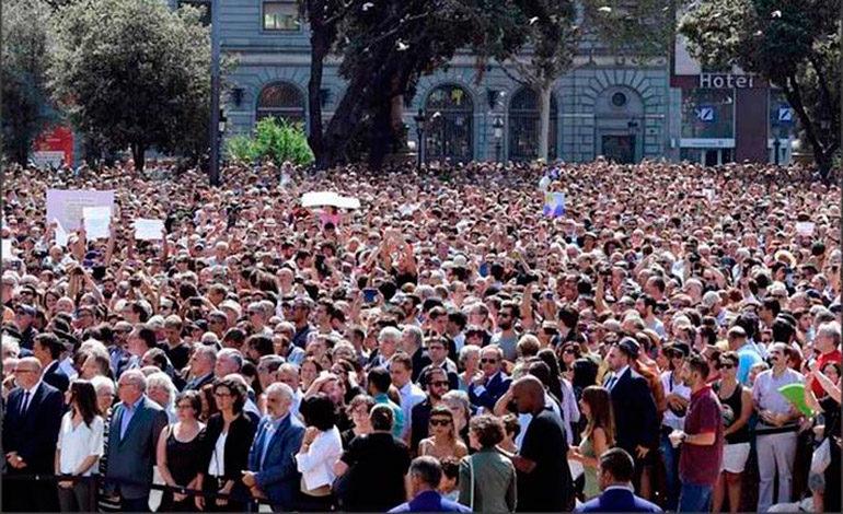 Una gran manifestación recorrerá Barcelona contra el terrorismo