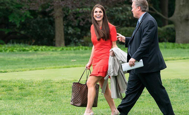 La exmodelo que se convirtió en jefe de comunicaciones de la Casa Blanca