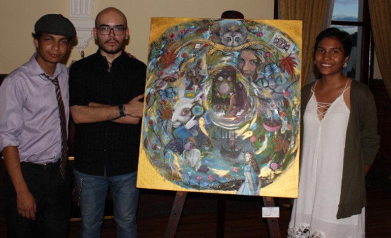 Colectivo Nahual celebra su primer aniversario con exposición de pintura