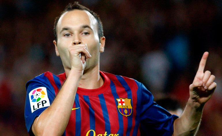 Iniesta baja del Barcelona para duelo de la Supercopa