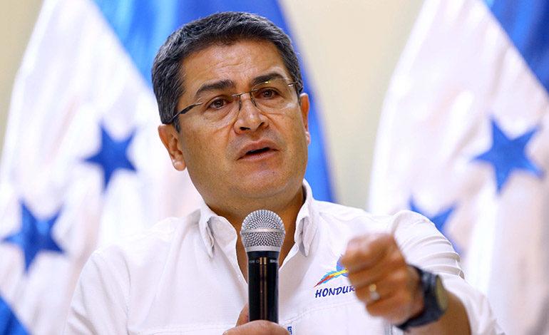 "Presidente Hernández: ""Voy a abrir dos cárceles más"""