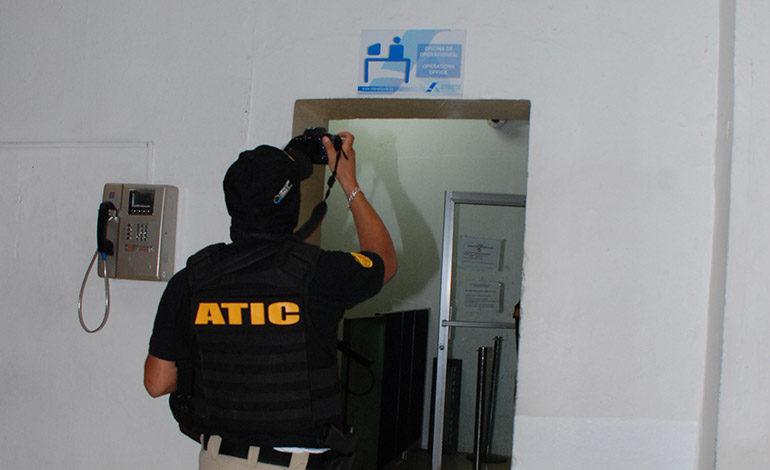 La Dirección de Seguridad Aeroportuaria también fue intervenida.