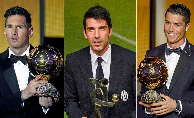 Buffon, Cristiano y Messi candidatos a mejor jugador de la UEFA
