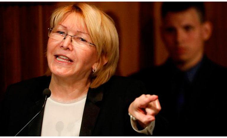 La Asamblea Constituyente separó de su cargo a la fiscal venezolana