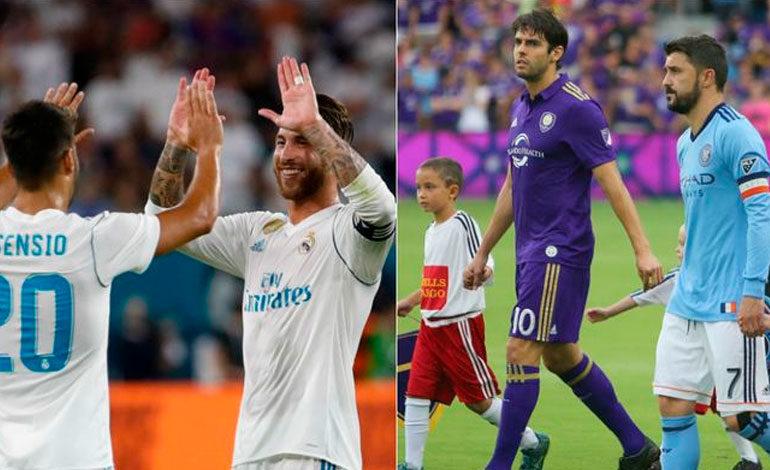 Estrellas de la MLS listas para duelo con Real Madrid