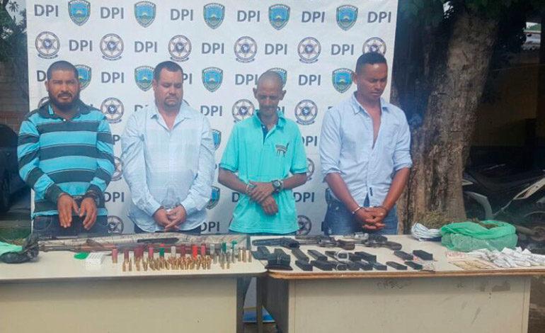 Tres olanchanos detenidos en operativo contra venta de drogas