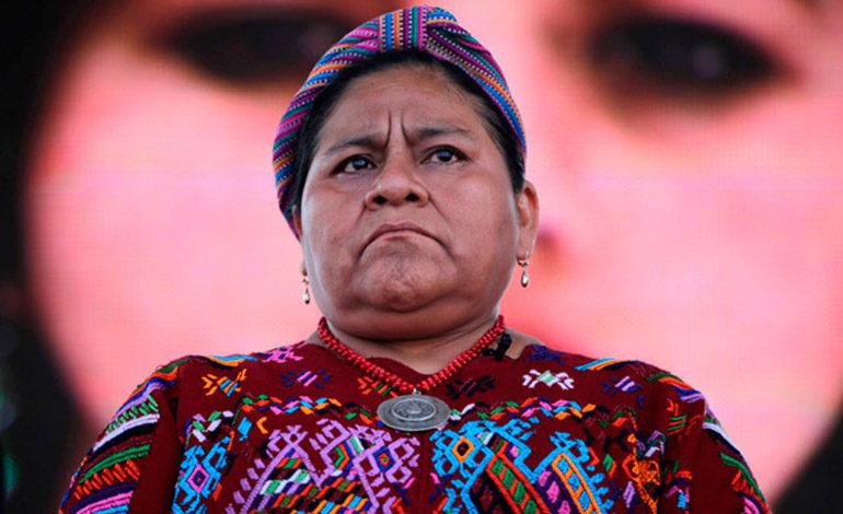 Rigoberta Menchú pide apoyar la lucha contra la impunidad en Guatemala