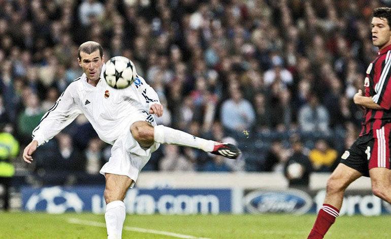 Zidane elige la final de la Liga de Campeones de 2002 como su mejor partido