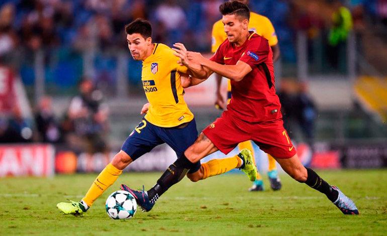 El portero Alisson y el palo niegan el triunfo al Atlético en Roma