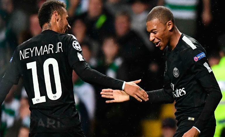 Con Neymar y Mbappé, PSG el nuevo Nike Fútbol Club