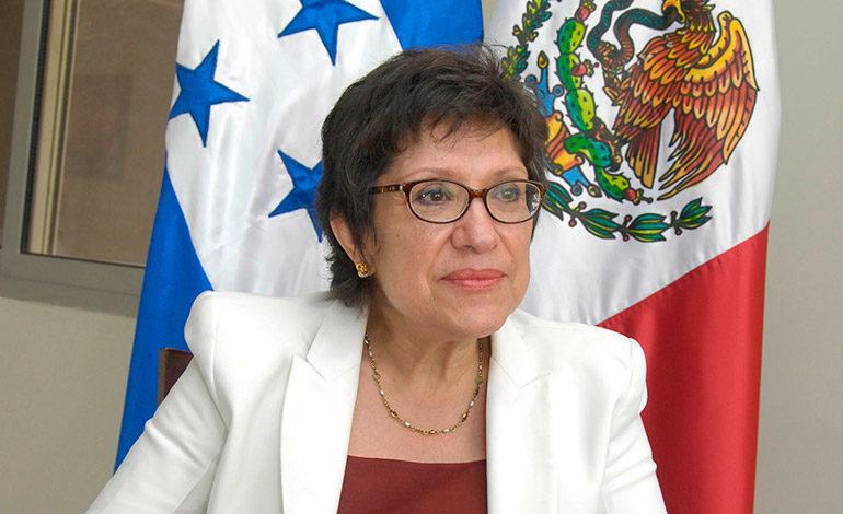 Embajadora de México agradece solidaridad de Honduras