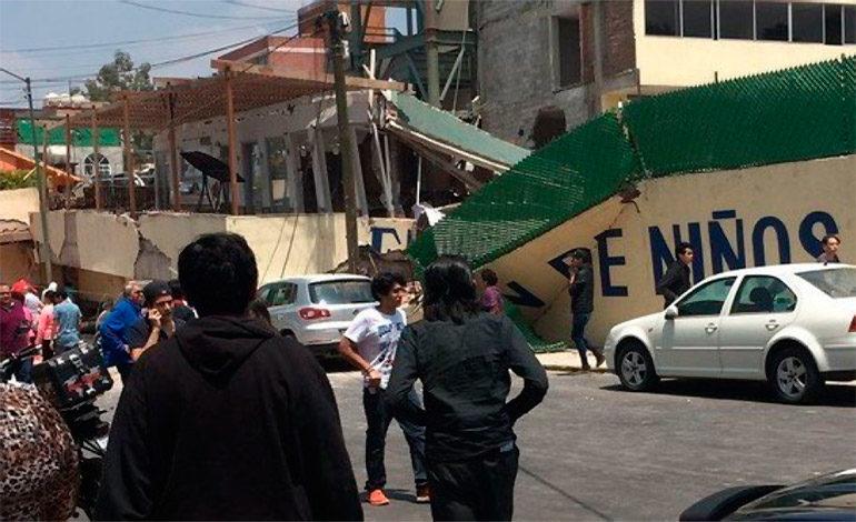Al menos 20 niños y dos adultos mueren en escuela por terremoto en México