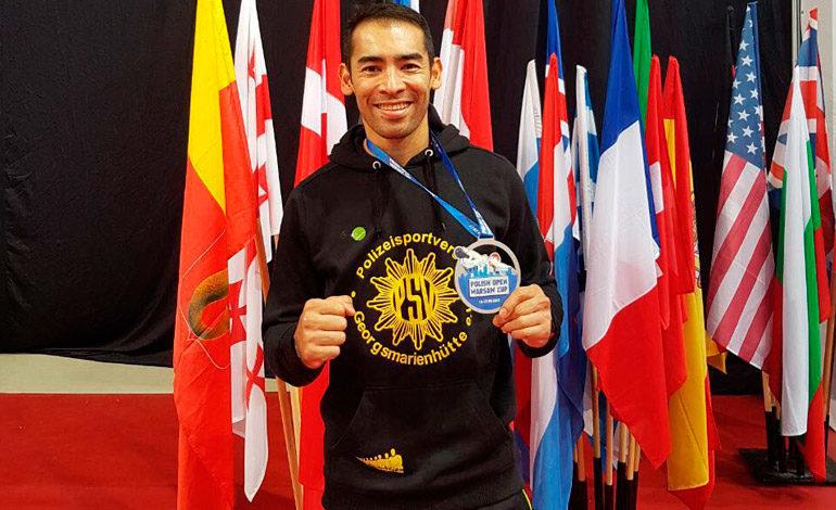 Miguel Ferrera sigue conquistando medallas para Honduras
