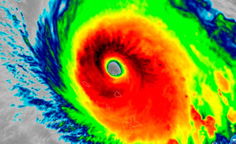 Huracanes extremadamente peligrosos consecuencia del calentamiento global