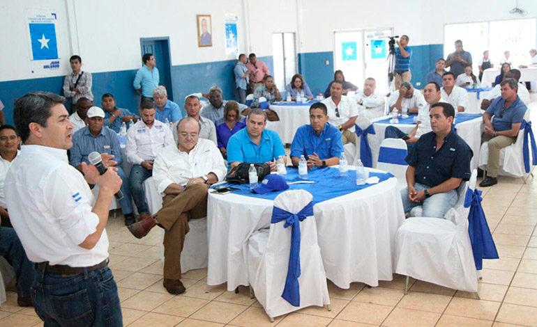 Candidatos del PN definen líneas de trabajo con diputados norteños