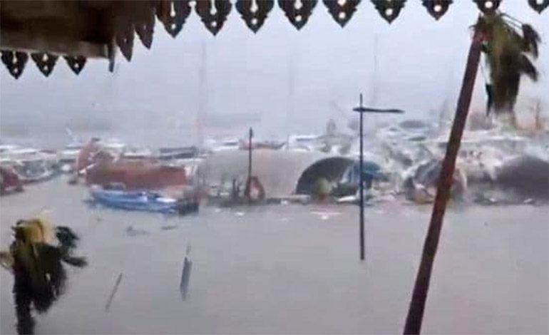 Al menos seis muertos en la parte francesa de San Martín por el paso de Irma