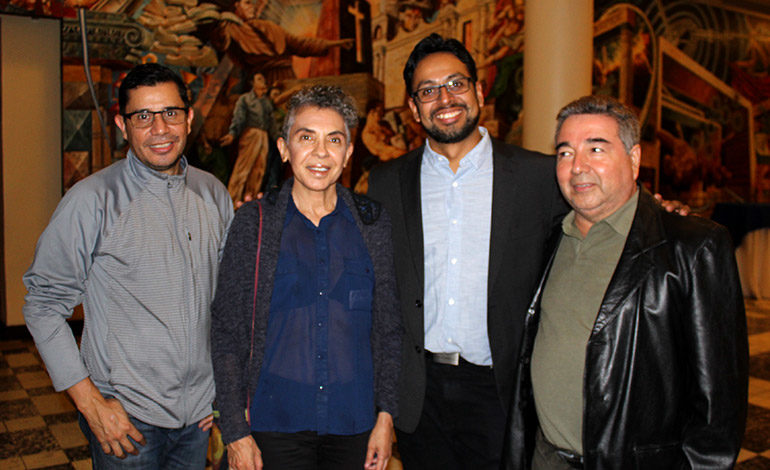 Bayardo Blandino, Celsa Flores, Miguel Romero, Armando Lara.