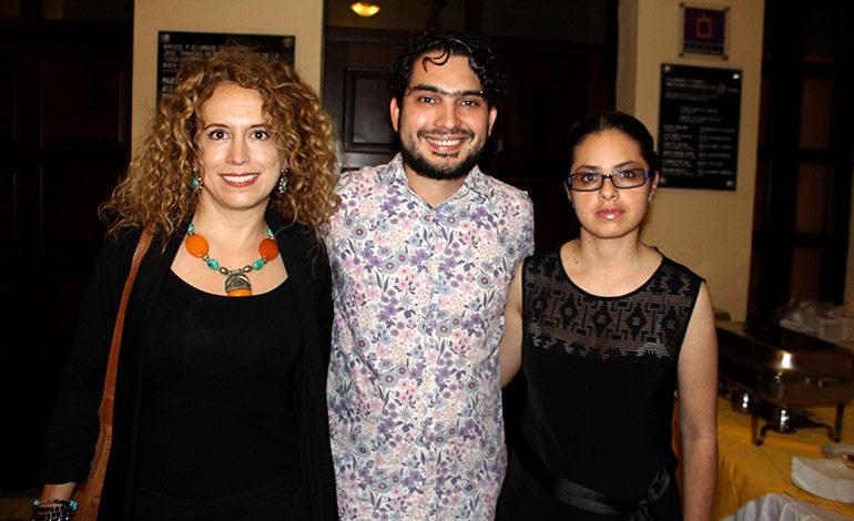 Mildred Gallo, Milton Reyes, Nadia Cáceres.
