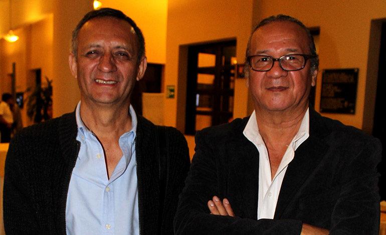 Carlos Lanza y Javier Brito.