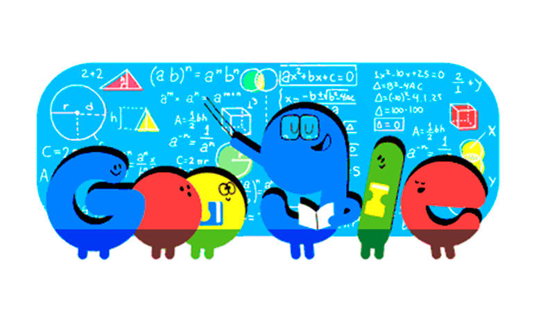 Así felicita Google a los maestros en su día