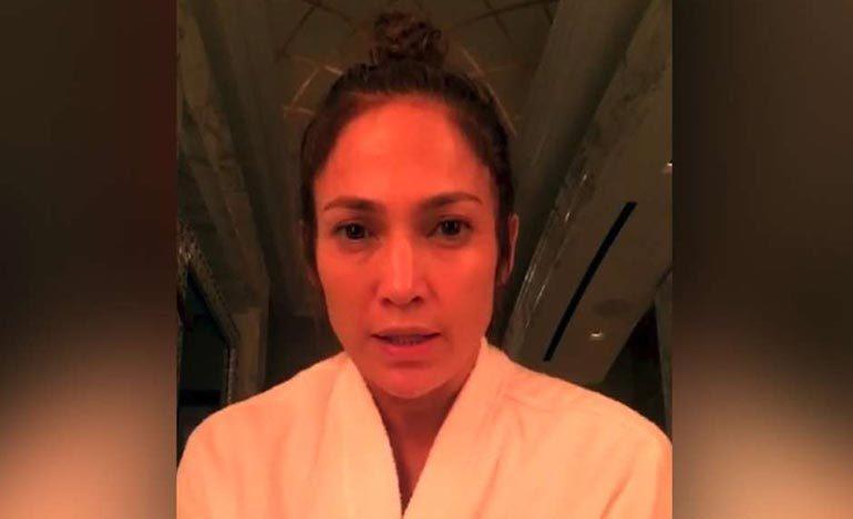 Jennifer Lopez desesperada por no contactar a su familia en Puerto Rico