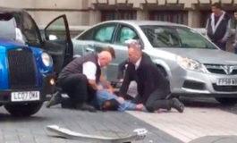 Así arrestaron al conductor del vehículo que atropelló a varias personas en Londres (Video)
