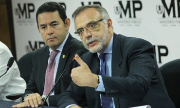 Sector empresarial respalda a Jimmy Morales en su decisión de cesar a CICIG