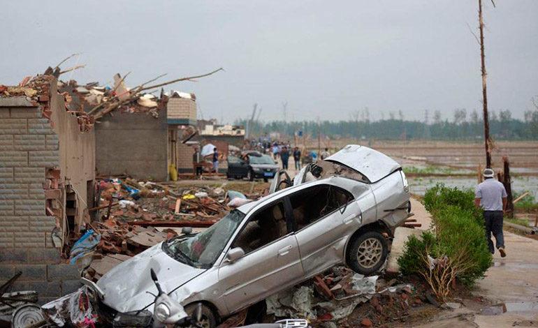 Tormentas en China dejan 23 muertos