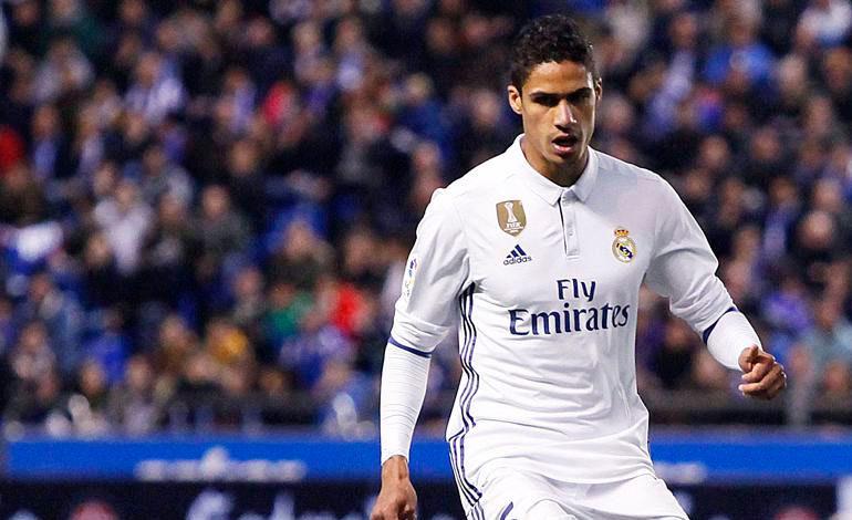 Varane dice que Zidane le incita a asumir riesgos