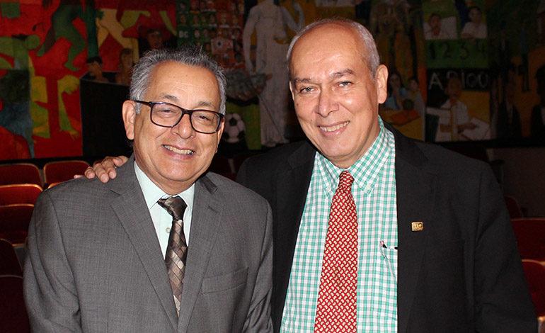 Armando Euceda y Segisfredo Infante.