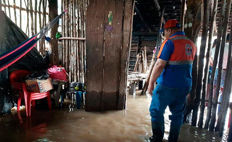 La tormenta Nate deja más de 65 familias damnificadas en Honduras