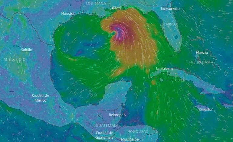 Nate se convierte en huracán y amenaza la costa estadounidense del Golfo de México