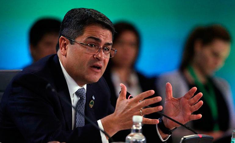 Hernández llama a enfrentar como bloque el narcotráfico