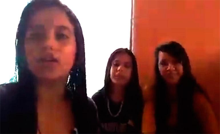 Aparecen en video jovencitas reportadas como desaparecidas en Santa Bárbara
